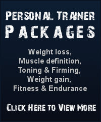 Personal trainer Packages